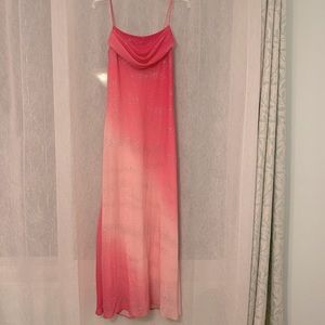 ❤️ Onyx Nite Ombré Pink Gown